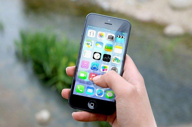 スマートフォンのLINEアプリ