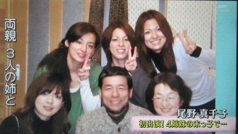 尾野真千子の家族写真