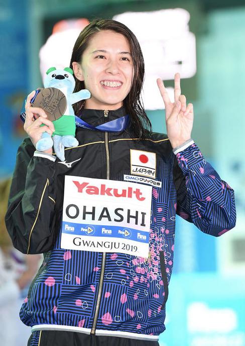 400m個人メドレーでは銅メダルを獲得した大橋悠依選手