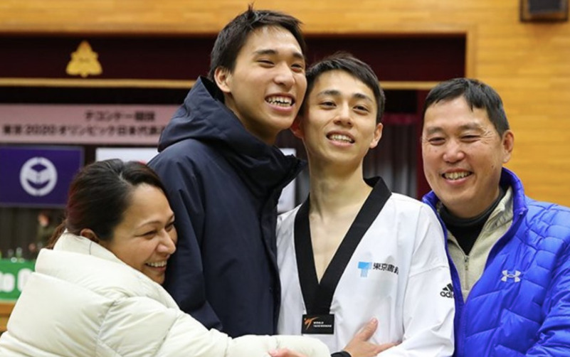鈴木セルヒオ兄弟と家族
