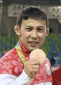 銅メダルを獲得した高藤直寿選手