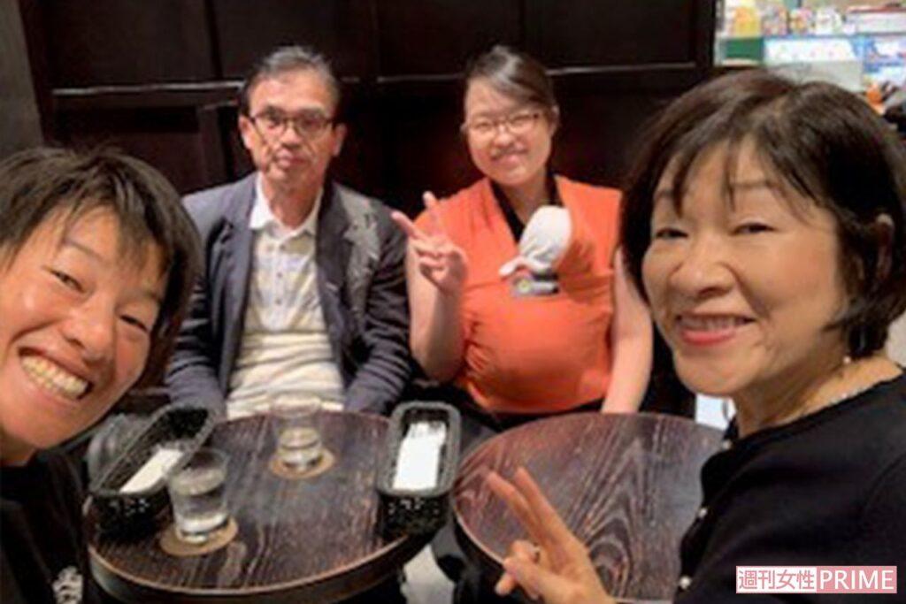上野由岐子(ゆきこ)選手の家族