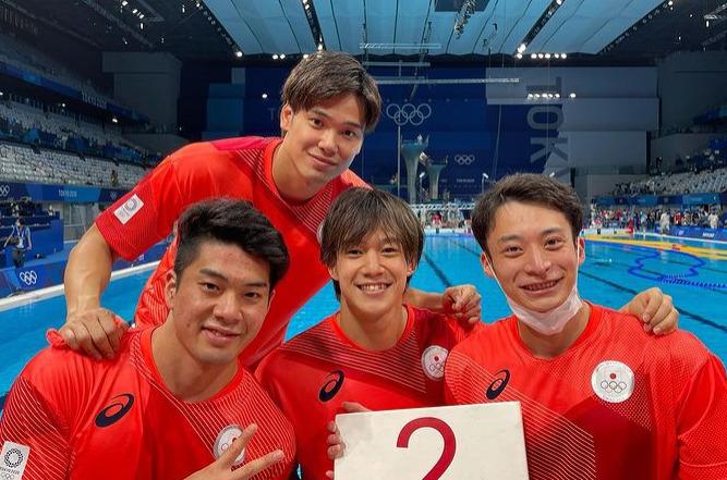 東京オリンピック メドレーリレーメンバー