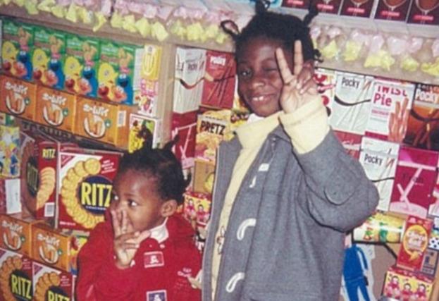 馬瓜エヴリン選手と妹のステファニーの幼少期