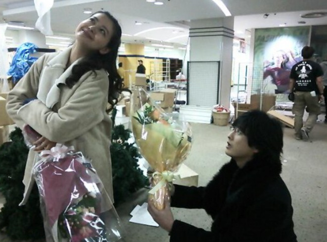黒谷友香と中村俊介