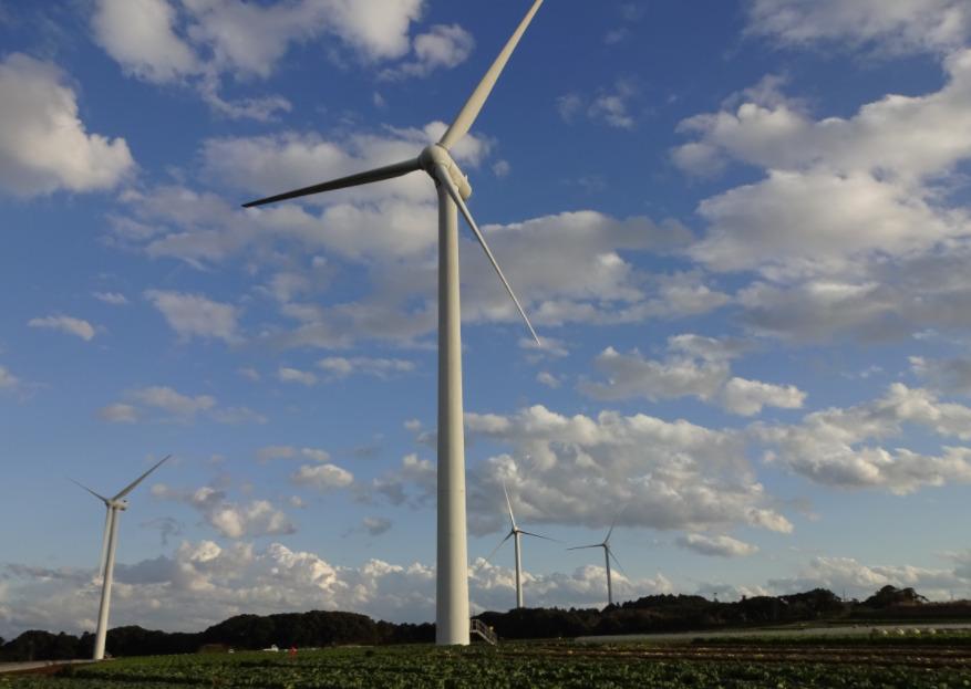 コスモエコパワーの風力発電
