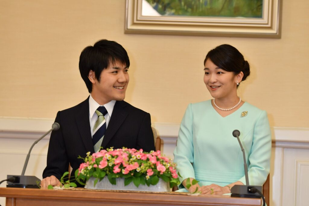 眞子様と小室圭さん